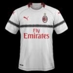 Milan AC 2019 maillot extérieur 2018-2019