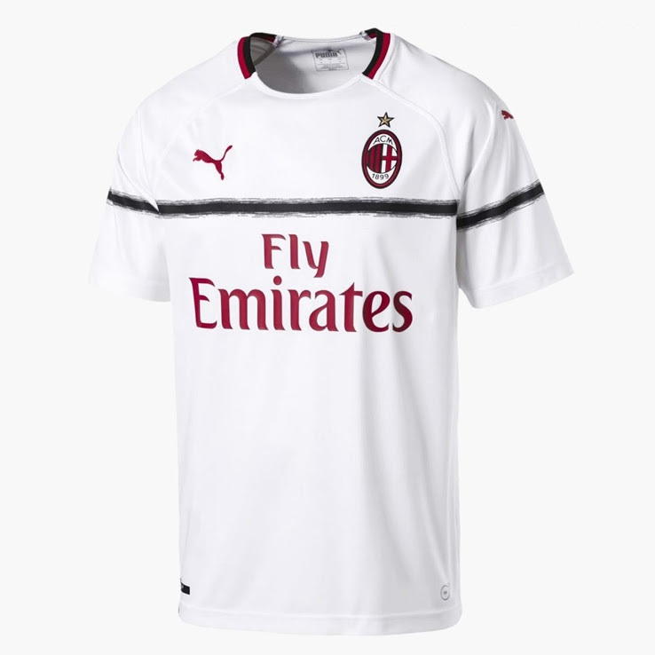 AC Milan 2019 maillot extérieur 18 19 officiel Adidas