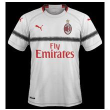 AC Milan 2019 maillot extérieur 18 19