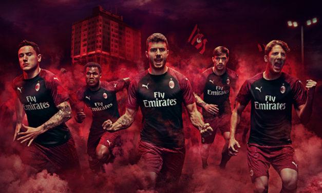 AC Milan 2019 les nouveaux maillots de football de Puma