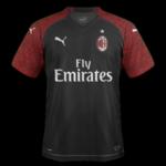 AC Milan 2019 trosième maillot third 18 19 Puma