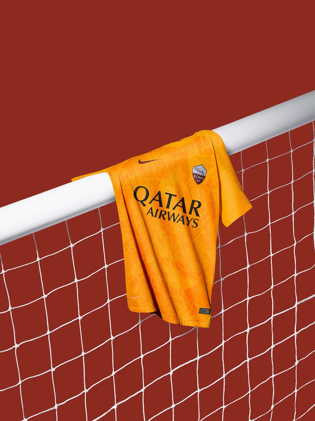 AS Roma 2019 3eme maillot de foot 2018 2019
