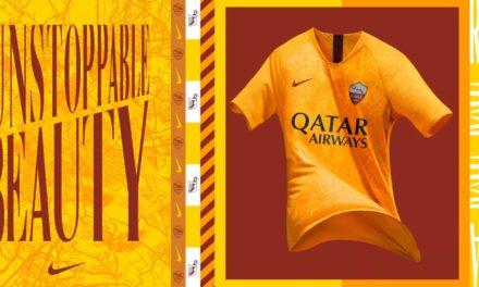 AS Roma 2019 nouveaux maillots de football Nike