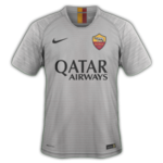 AS Roma 2019 maillot de football exterieur gris