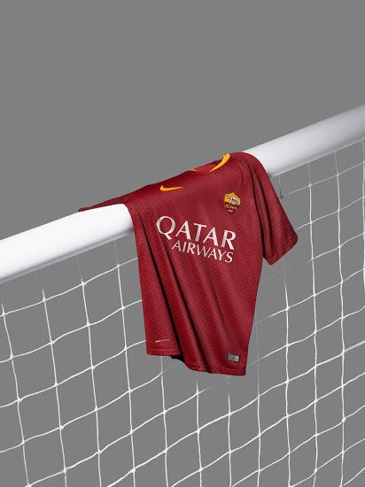 AS Roma 2019 maillot domicile Nike 18 19