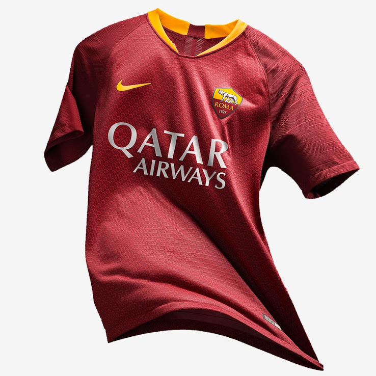 AS Roma 2019 maillot domicile football