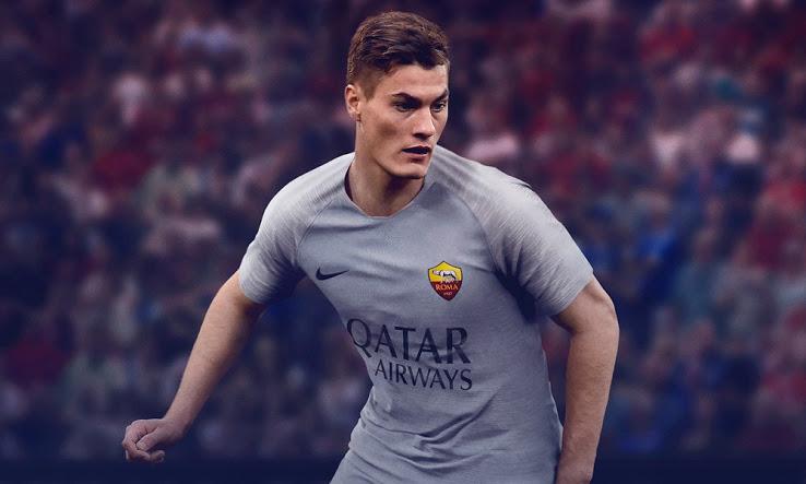 AS Roma 2019 maillot extérieur gris