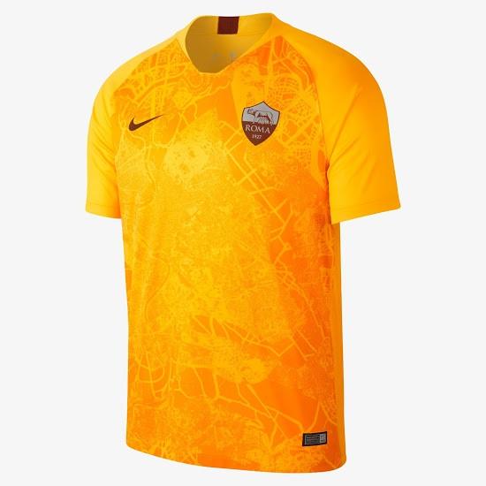 AS Roma 2019 nouveau maillot third 18 19