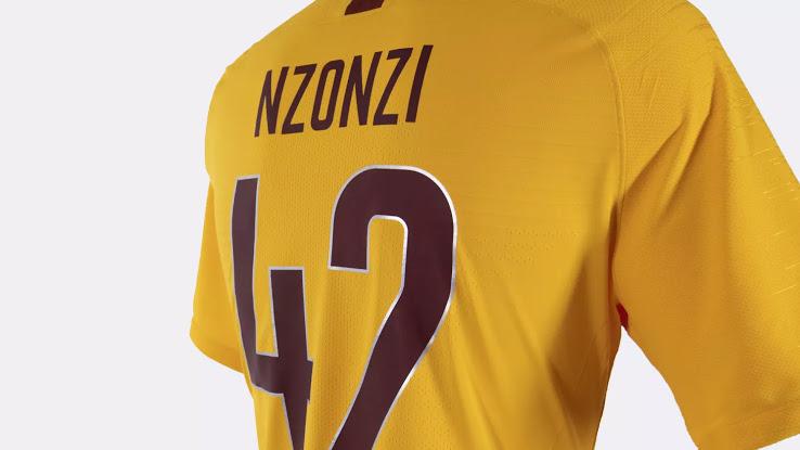 AS Roma 2019 nouveau maillot third flocage NZONZI