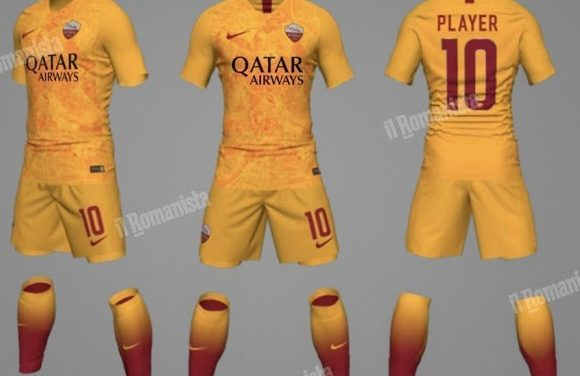AS Roma 2019 nouveaux maillots de football Nike