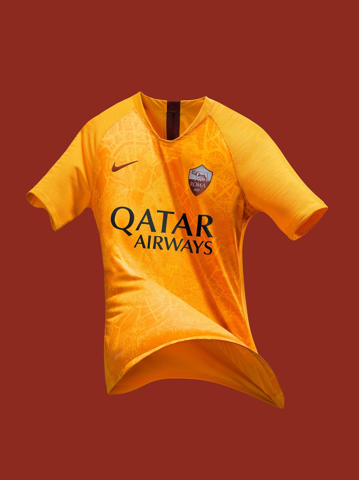 AS Roma 2019 troisieme maillot third