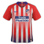 Atletico Madrid 2019 maillot domicile 18 19