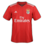 Benfica 2019 maillot foot domicile 18 19