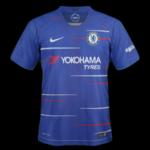 Chelsea 2019 maillot foot domicile 18 19