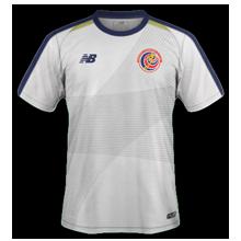 Costa Rica 2018 maillot extérieur coupe du monde 2018