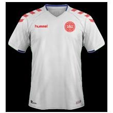 Danemark 2018 maillot coupe du monde exterieur