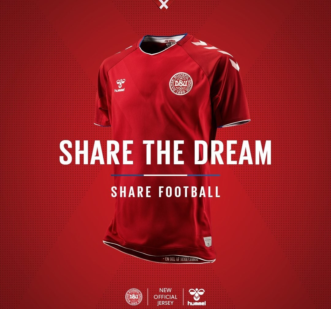 Danemark 2018 maillot domicile coupe du monde 2018 1