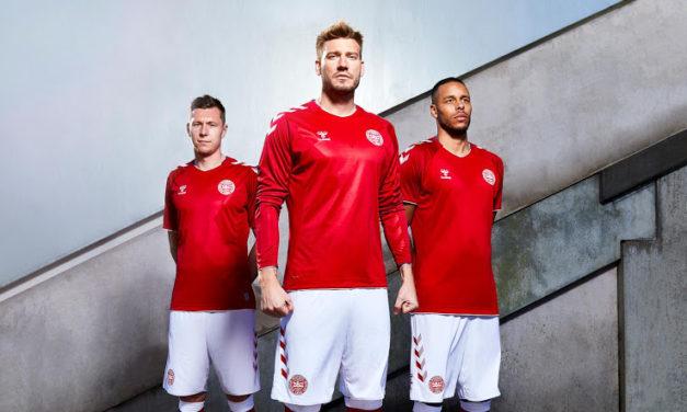 Danemark 2018 maillots coupe du monde 2018 Hummel