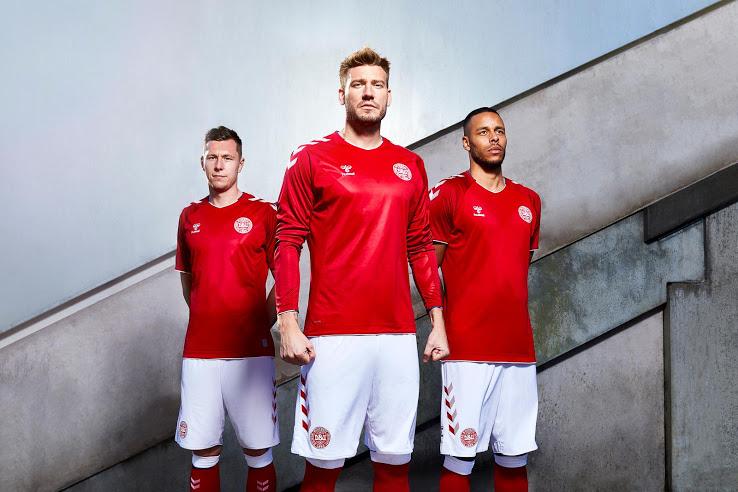 Danemark 2018 maillot domicile coupe du monde Hummel