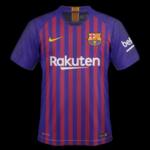 FC Barcelone 2019 maillot foot domicile 18 19