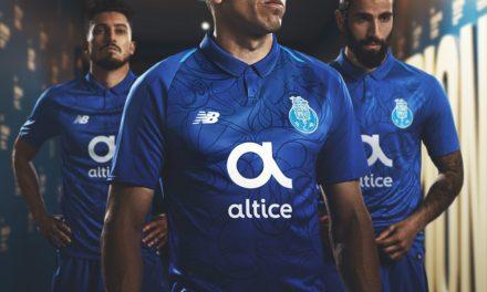 Nouveaux maillots de football du FC Porto 2019