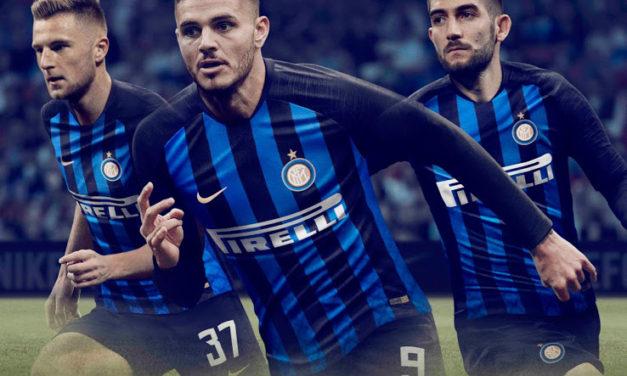 Inter Milan 2019 nouveaux maillots de football de Nike
