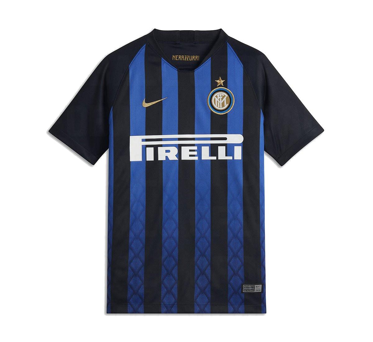 Inter Milan 2019 maillot de football domicile Nike