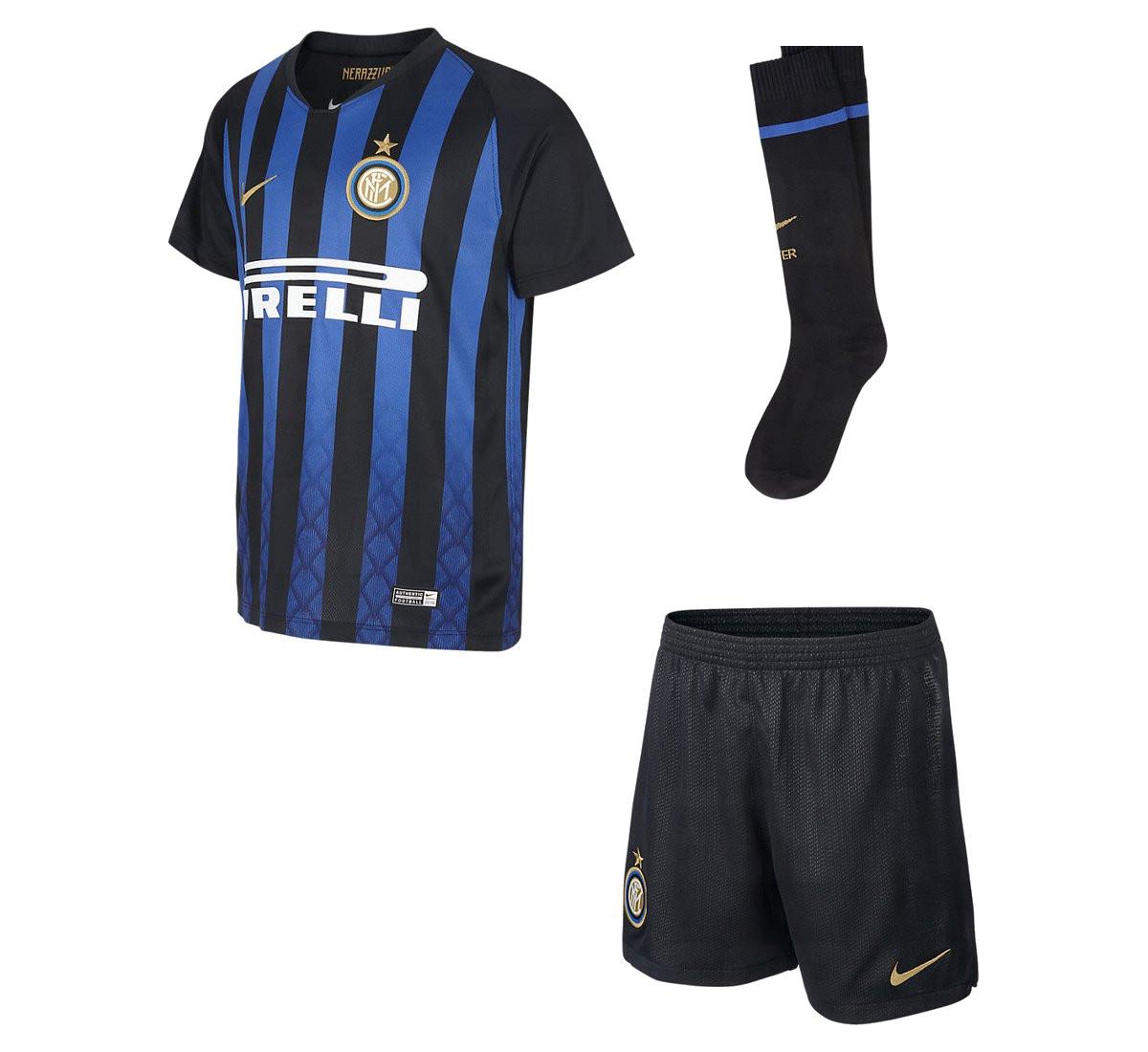Inter Milan 2019 maillot de football domicile officiel 18 19