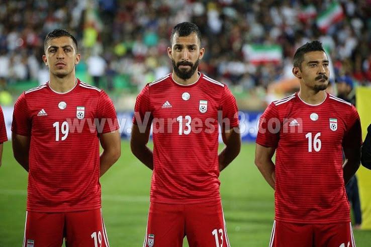 Iran 2018 maillot de foot exterieur coupe du monde officiel