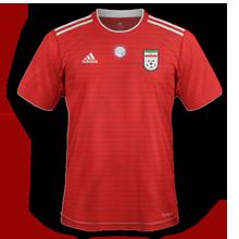 Iran 2018 maillot exterieur coupe du monde 2018