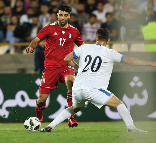 Iran nouveau maillot exterieur coupe du monde 2018