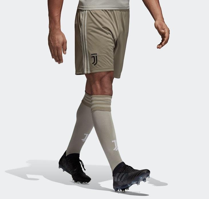Juventus 2019 short et chaussettes de foot extérieur 2018 2019