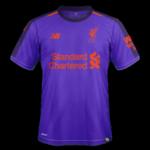 Liverpool 2019 maillot foot exterieur 2018 2019