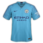 Manchester City 2019 maillot football domicile