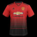 Manchester United 2019 maillot de foot domicile Adidas 18 19
