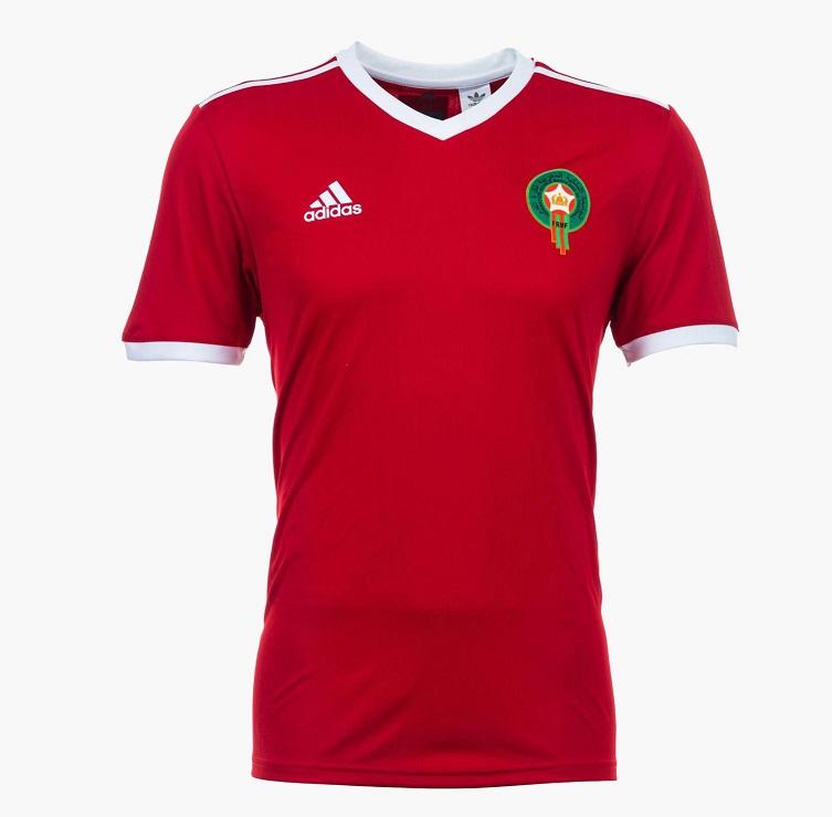 Maroc 2018 maillot domicile coupe du monde 2018