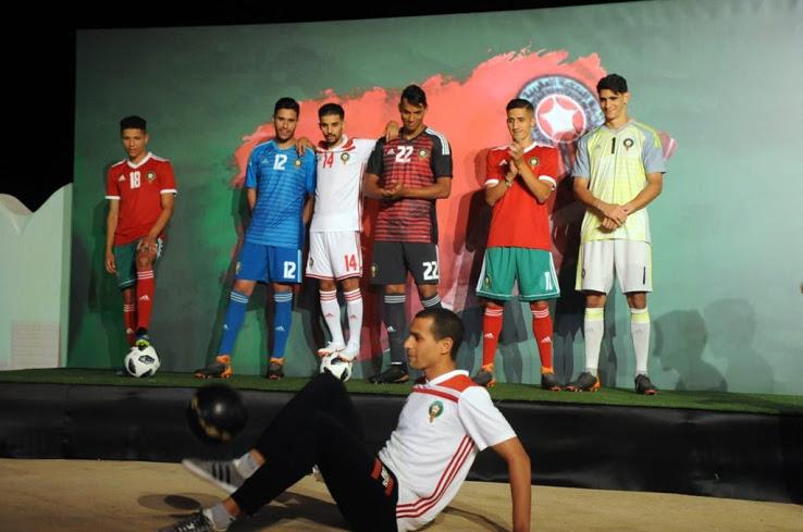 Maroc 2018 maillots de foot coupe du monde 2018