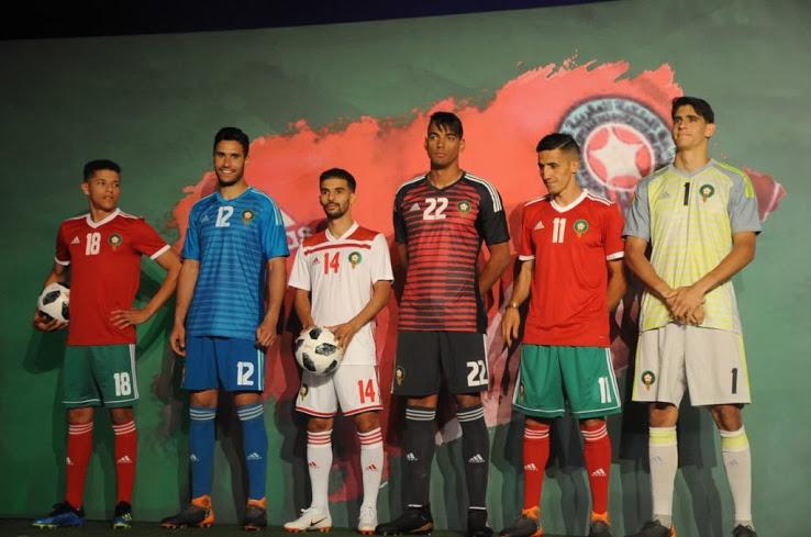 Maroc 2018 maillots de football coupe du monde 2018