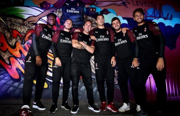 Milan AC 2019 nouveau maillot third