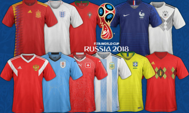 [Coupe du monde 2018] Tous les maillots de football CDM2018
