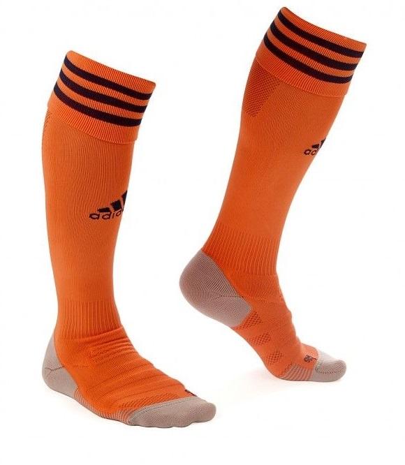 OL 2019 chaussettes de foot orange third Lyon