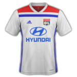 OL 2019 maillot foot domicile Lyon