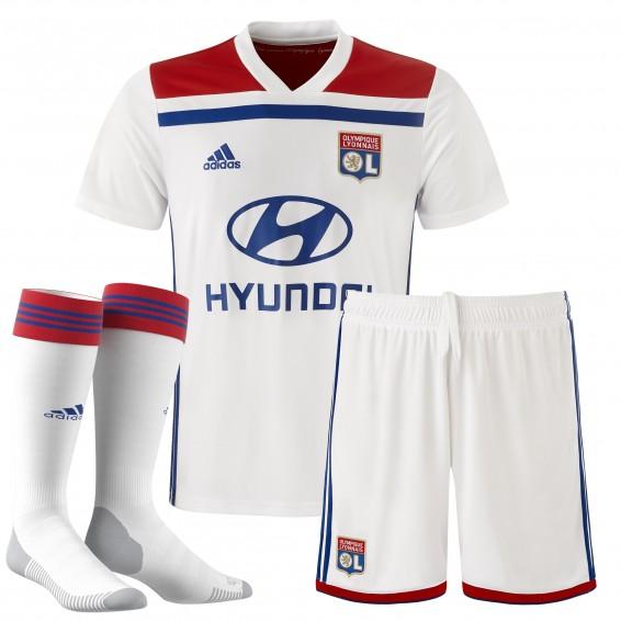 OL 2019 tenue de foot domicile Olympique Lyonnais 2019