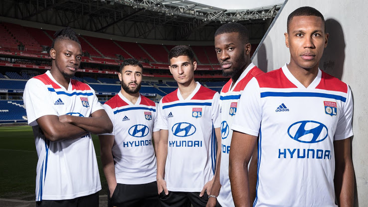 Olympique Lyonnais 2019 maillot domicile foot OL