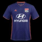 Olympique Lyonnais 2019 maillot extérieur Lyon 18 19 OL 1