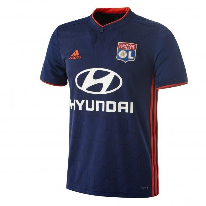 Olympique Lyonnais 2019 maillot extérieur foot Lyon