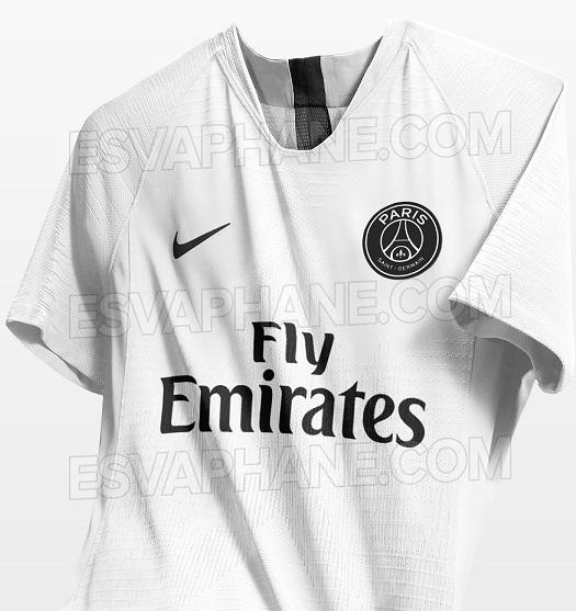PSG 2019 troisième maillot foot third possible