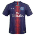PSG 2019 maillot domicile foot Paris Saint Germain 18 19