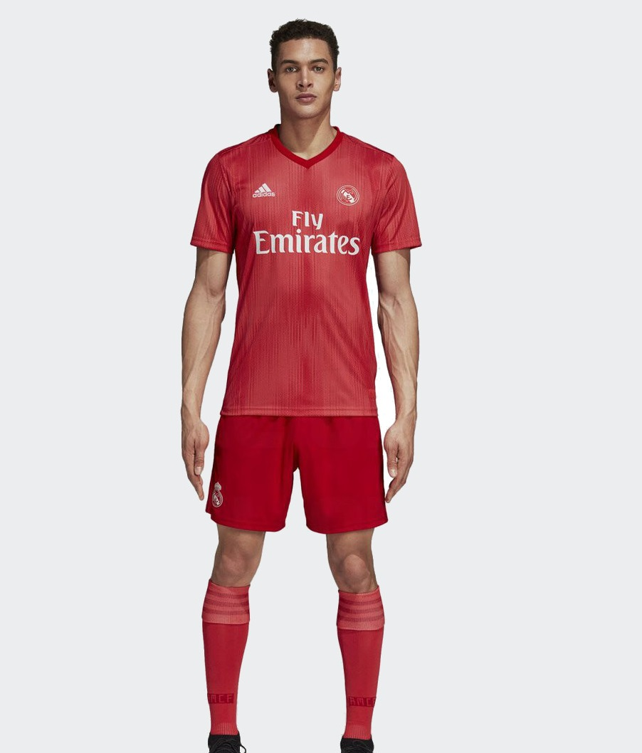 Real Madrid 2019 3eme maillot third foot 18 19