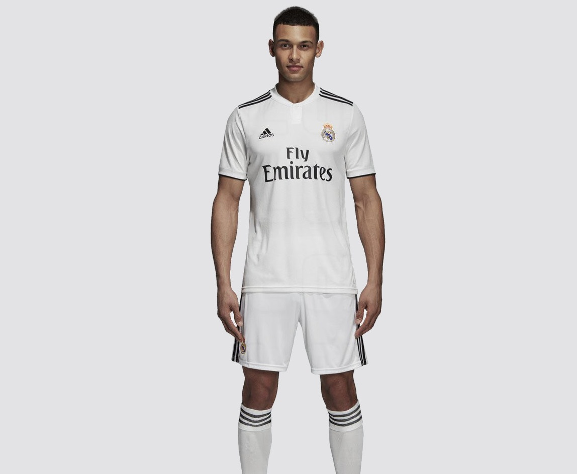Real Madrid 2019 maillot de foot domicile 2018 2019